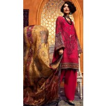 Premium Embroidered Collection (Dark Pink)