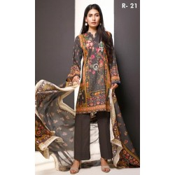 Salina Pop Digital Printed 2 pc D-21