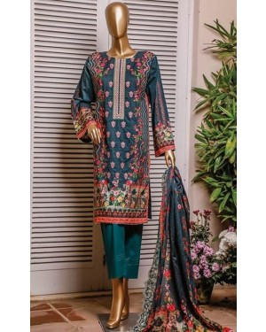 RT Cambric Embroidered Collection Original D-014