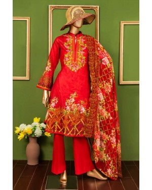 Oriental Lawn Embroidered Original D-02