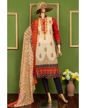 Oriental Lawn Embroidered Original D-03