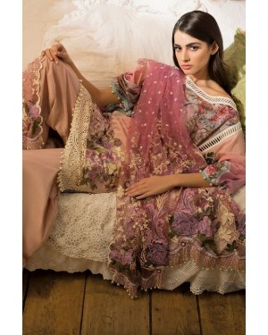 Designer embroidered collection D-SN-04A