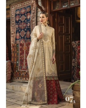 Designer embroidered collection D-165A