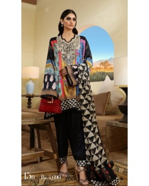 Premium Embroidered Collection D-551-B