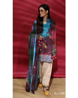 Premium Embroidered Collection D-552-A