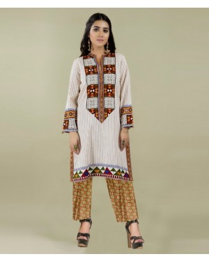 Designer embroidered collection D-3051-A