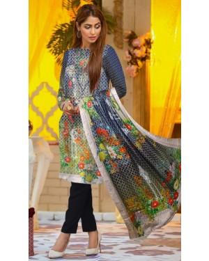 Bushra khola Digital Wool By Fiza Minahil D-09