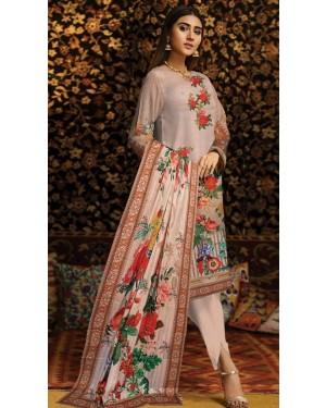 Bushra khola Digital Wool By Fiza Minahil D-01