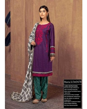 Premium embroidered collection D-602-A